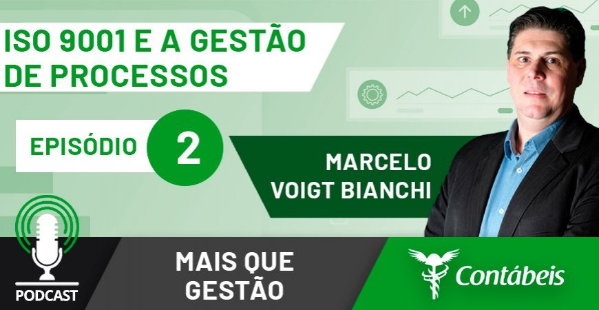Marcelo Voig Bianchi participa do segundo episódio do Mais Que Gestão, série de podcasts do Portal Contábeis