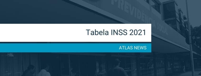 Tabela INSS 2021 - ATLAS Inteligência para Gestão