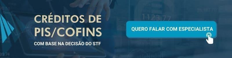 Stf - decisão - icms base pis cofins - calcular créditos