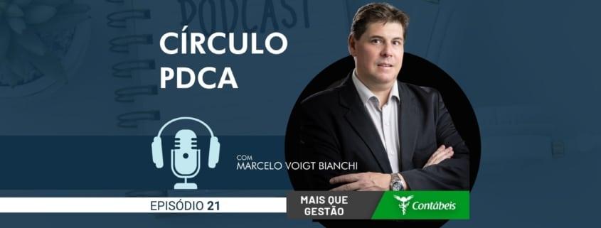 No episódio 21 do podcast mais que gestão, nosso ceo, marcelo voigt bianchi, fala sobre o círculo pdca. Entenda como a ferramenta de gestão conhecida como círculo pdca pode ajudar sua empresa. | atlas contabilidade